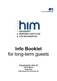 Info Booklet for long-term guests - HIM