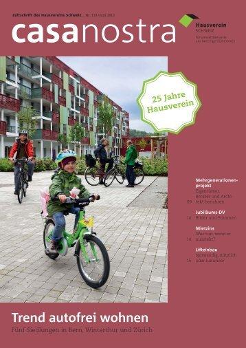 casanostra nr. 119 herunterladen als pdf - hausverein.ch