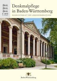 Lesen Sie mehr... - Denkmalpflege Baden-Württemberg