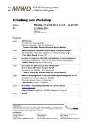 Einladung zum Workshop - Energiestadt