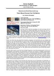 Jochen Hemmleb: Tatort Mount Everest - Die Berge des Himalaya