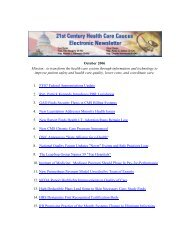 October 2006 Mission: to transform the health care system ... - himss