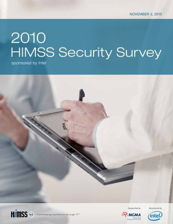 2010 HIMSS Security Survey Report
