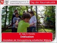 Verstehen als Voraussetzung schulischer Bildung - LBZH ...
