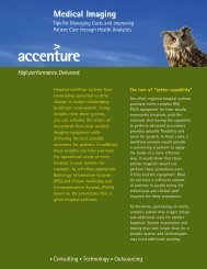 Download PDF: Medical Imaging - Accenture