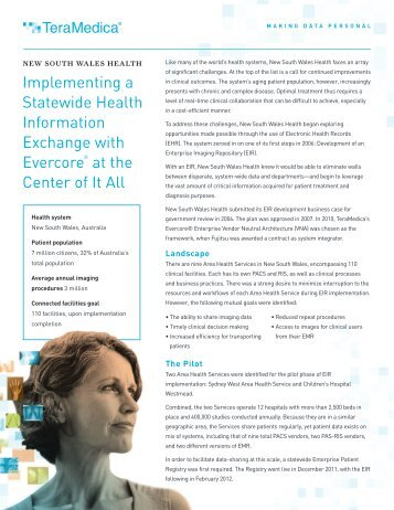 Implementing a Statewide Health Information Exchange with ...