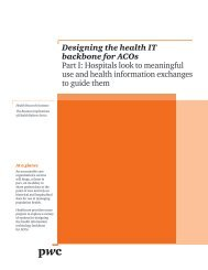 Designing the health IT backbone for ACOs Part I: Hospitals ... - himss