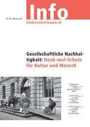 Denk-mal-Schutz für Kultur und Mensch - Schweizerische Fachstelle ...