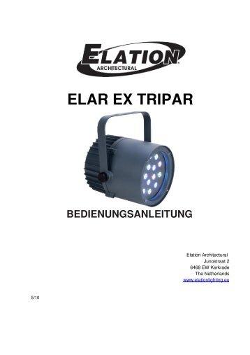 Elar EX Tripar manual_de - Amazon Web Services