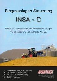INSA-C Biogasanlagen-Steuerung - PROTEC