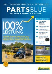 Das PartsBlue Magazin zum Download