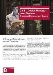 Device Management System - Berghof