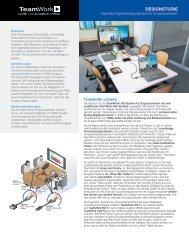 TeamWork – DESIGNSTUDIE: Hybrides Digital/Analog-System für ...