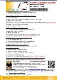 Programmauswahl für Männer 2014 - Evangelische Kirche der Pfalz
