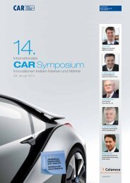 CAR Symposium - HANSER automotive