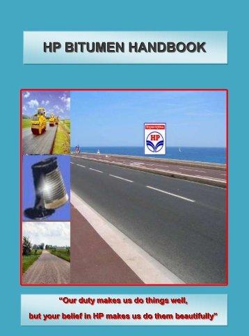 HP Bitumen Handbook - Hindustan Petroleum Corporation Limited
