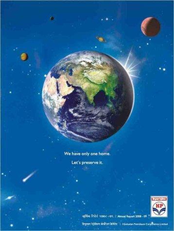 Annual Report 2008-09 - Hindustan Petroleum Corporation Limited
