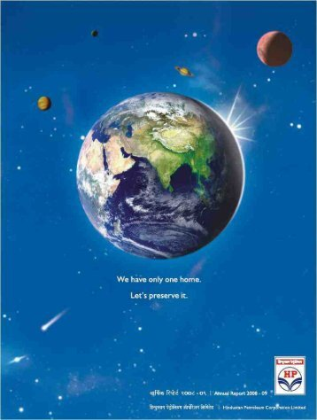Annual Report 2008-09 - Hindustan Petroleum Corporation Limited