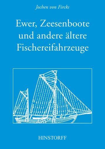 Ewer, Zeesenboote und andere ältere ... - Hinstorff Verlag