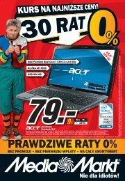 PRAWDZIWE RATY 0% - Hiperpromo.pl