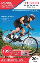 Akcesoria rowerowe - Hiperpromo