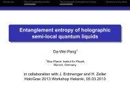 Entanglement entropy of holographic semi-local quantum liquids