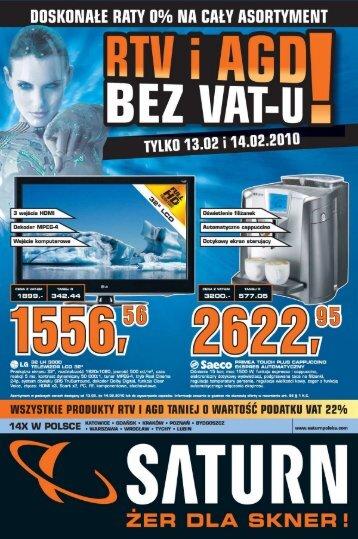 Gazetka 2010-02-11 23:59:59 2010-02-14 23:00:00 - Hiperpromo