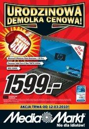 AKCJA TRWA OD 12.03.2010! - Hiperpromo