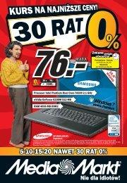 5-10-15-20 NAWET 30 RAT 0% - Hiperpromo.pl