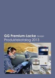 Katalog - GG Premium-Lacke