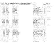 Graduates list, May 2013 - Ferris State University