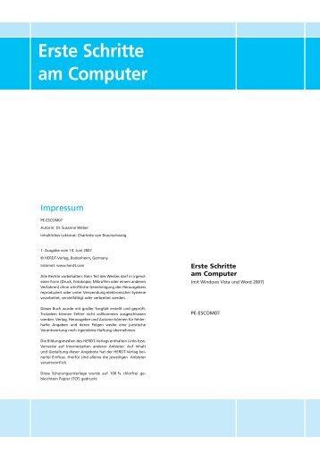 Erste Schritte am Computer - Best Engineering
