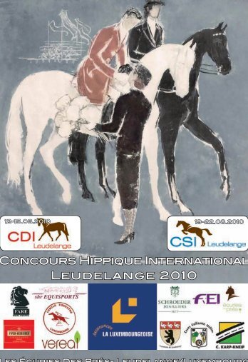 Concours Hippique International Leudelange 2010 - HIPPOline
