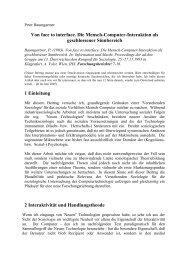 Baumgartner_1993_Von Face to Interface - Peter Baumgartner