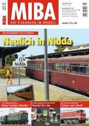 Neulich in Nidda - Verlagsgruppe Bahn
