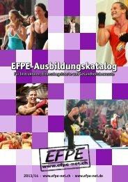 EFPE-Ausbildungskatalog - European First Place Establishment