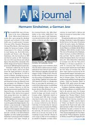 Hermann Sinsheimer, a German Jew - The Association of Jewish ...