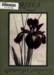 Irises - Historic Iris Preservation Society