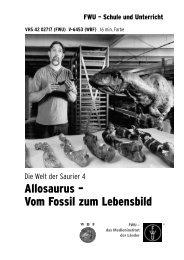 Allosaurus – Vom Fossil zum Lebensbild - FWU