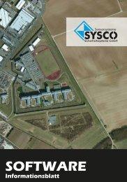 SOFTWARE - SYSCO Sicherheitssysteme GmbH