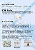 SOFTWARE - SYSCO Sicherheitssysteme GmbH - Seite 2