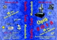Katalog Optik - Quality-Tools Messtechnik