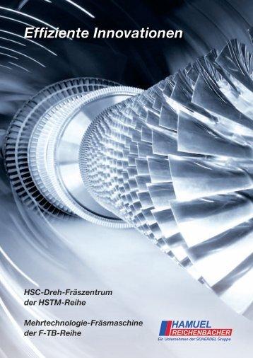 Effiziente Innovationen - Hamuel Maschinenbau