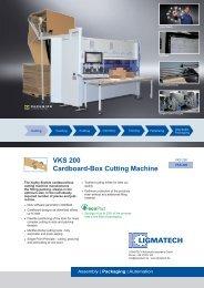 VKS 200 Cardboard-Box Cutting Machine - HOMAG Group
