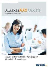 AX2 Update 1 - April 2013 - Abraxas Informatik AG