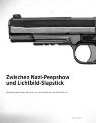 Zwischen Nazi-Peepshow und Lichtbild-Slapstick - Hinterland ...