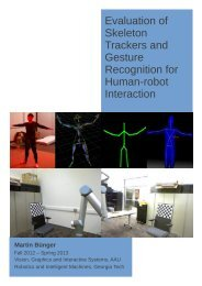 Evaluation of Skeleton Trackers and Gesture Recognition for Human ...