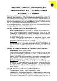 Programm (pdf) - Berner & Mattner