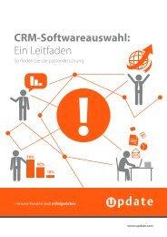 CRM-Softwareauswahl: Ein Leitfaden - CRM Finder
