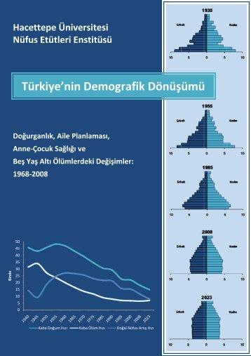 Türkiye'nin Demografik Dönüşümü - Hacettepe Üniversitesi Nüfus ...